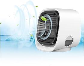 Atrumly Persoonlijke Airconditioner Draagbare Luchtkoeler Mini Luchtkoeler Purifier 3 Speed Desktop Koelventilator voor Th...