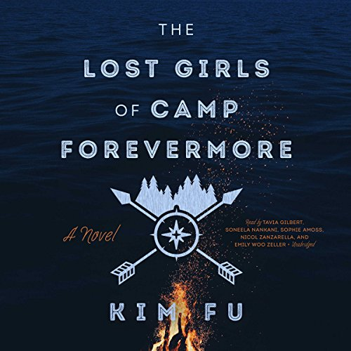 The Lost Girls of Camp Forevermore audiobook cover art