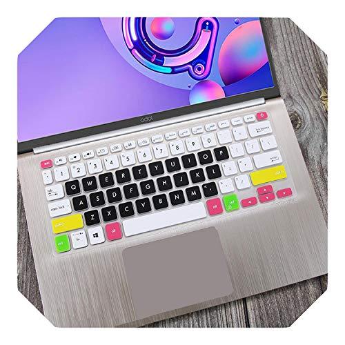 Funda protectora para teclado ASUS Vivobook 14 X412UA x412fl X412f x412fj x412DA x412ub X412 X412U X412D de 14 pulgadas, color negro