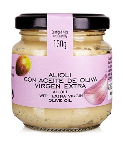 Salsa Aioli spanische Knoblauchmayonaise mit nativem Olivenöl Extra, 140 Gramm
