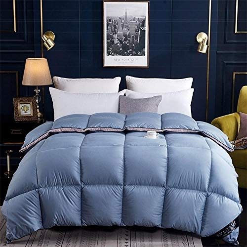 CHOU DAN Duvet Double Bed,Three-dimensional cotton down quilt with goose down quilt-150 * 200cm 3000g_blue