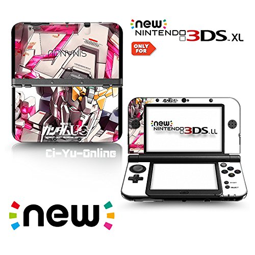 Ci-Yu-Online VINYL SKIN [new 3DS XL] - Mobile Suit Gundam Unicorn UC #2 Unicorn - Limited Edition STICKER DECAL COVER for NEW Nintendo 3DS XL / LL Console System