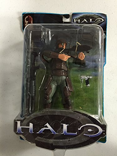 Halo Series 3 UNSC Marine with Assault Rifle, Shot-Gun, and Pistol.