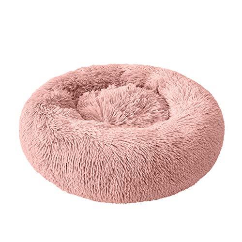 XYBB Huisdierbed Pet House Comfortabele hondenmat, zacht warm rond hondenbed, warm nest, gemakkelijk te reinigen huisdier, 26*100cm, D.