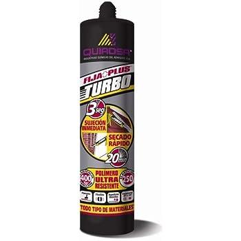 Quiadsa 52503329 Adhesivo Turbo, Blanco, 290 ml: Amazon.es: Bricolaje y herramientas