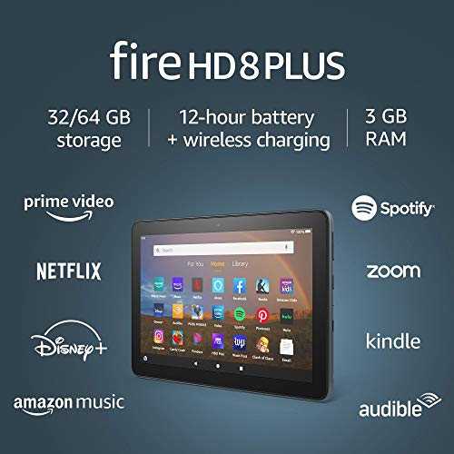 Amazon Fire HD 8 Plus Tablet with 32GB, Wireless Charging - $84.99 Shipped