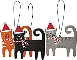 Kitty Christmas ornaments
