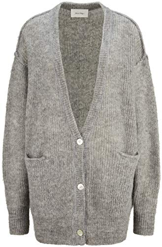American Vintage Damen Strickjacke in Grau One Size