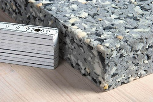 Verbundschaumstoff V120 100x200x6 cm Verbundplatten recyclingfähiger Preßschaum