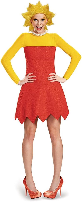 Disguise Woherren Lisa Deluxe Adult Costume, rot, X-Large