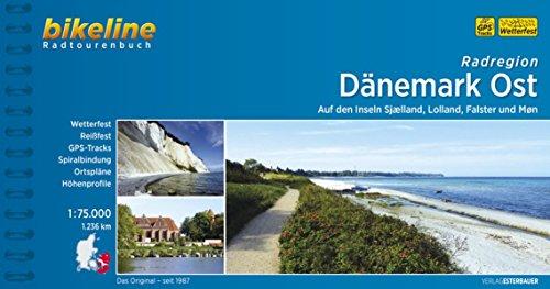 Radregion Dänemark Ost: Auf den Inseln Sjaelland, Lolland, Falster und Mon. 1:75 000, 1.239 km, wetterfest, reißfest, GPS-Tracks, Spiralbindung, ... 1:75.000, 1.236 km (Bikeline Radtourenbücher)