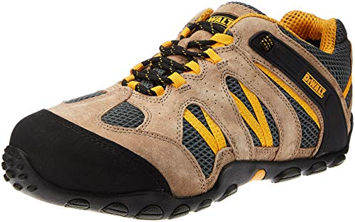 DEWALT Plane Classic Mens Safety Steel Toe Midsole Trainers Shoes UK 9 / EU 43 Beige