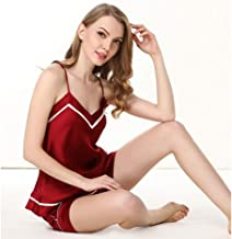 Home Devices Accessories Pajamas Silk Women'sLingerie Lace MeshNight Wear Smooth Wear-Resistant Hypoallergenic Strap w...