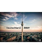 Deutschland - eine Reise zu bezaubernden Landschaften und Sehenswürdigkeiten - 2021 - Kalender - Format: DIN A3: Der Wandkalender mit den schönsten Fotomotiven des Landes!