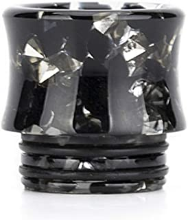 Satelliter 810 Drip Tip, Standard Resin Drip Tip Connector for Ice Maker Coffee Mod(Black)