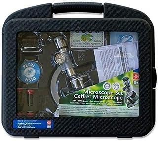 Microscópio 1200X com estojo maleta completo