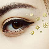 100 Piezas Calcomanías de Ojos de Steampunk Disfraz de Ojo