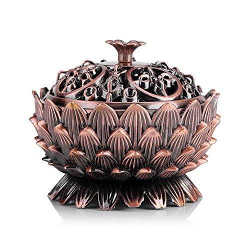 Le brûleur d'encens en forme de Lotus pour fan de méditation