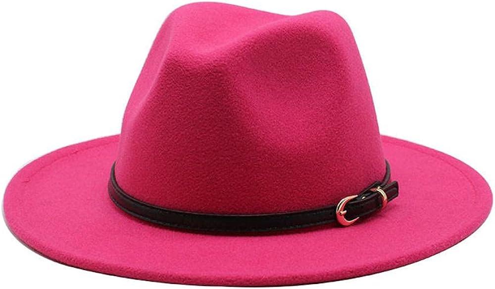 Women's and Men's Fedora Minneapolis Mall Hat Classic Elegant Brim Wide Panama Topics on TV Wo