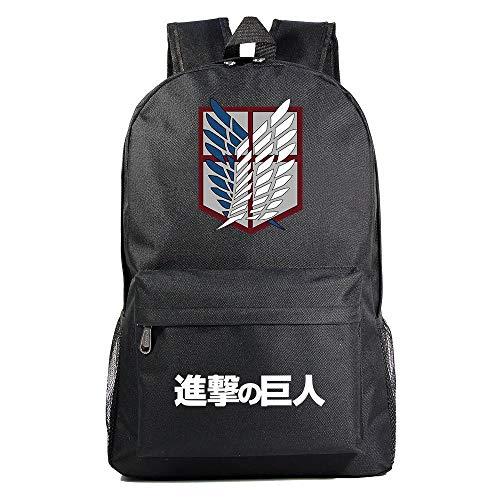 Anime Rucksack Attack on Titan Cosplay Jungen Mädchen Outdoor Rucksäcke Reise Rucksack Anime Daypack Schulter Schultasche Laptop Tasche