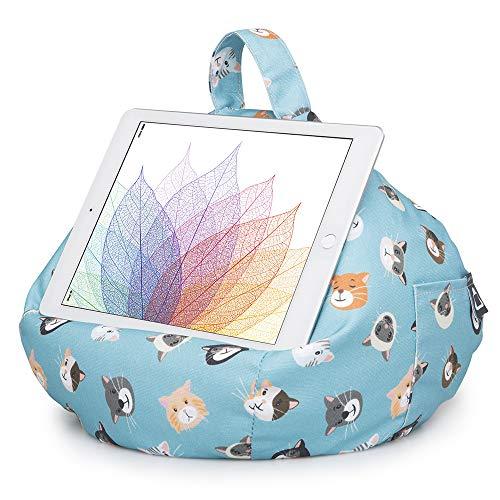 iBeani-knautkussen voor iPads, tablets & eReader/houder voor alle apparaten - Coole katten