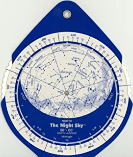 The Night Sky 50°-60° (Small) Star Finder