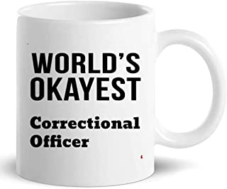 Awesome Correctional Officer Cup 11Oz Coffee Mug - Colleague Gift for Men Women Coworker T-Shirt