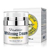 Vitamina C VC Crema Facial Blanqueadora para Mujeres Hidratante Brillo Reafirmante Lifting Antienvejecimiento Arrugas Día Noche Esencia Pura Reparación de la piel