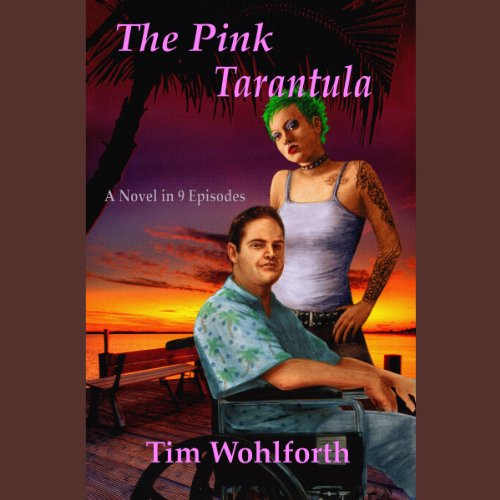 The Pink Tarantula audiobook cover art