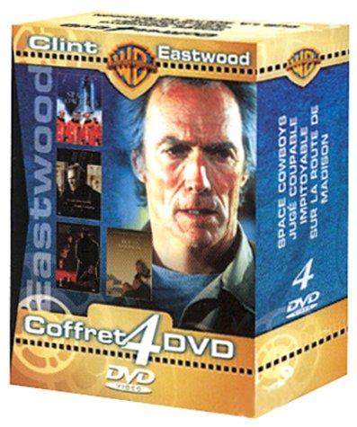 Coffret Clint Eastwood 4 DVD : Space Cowboys / Jugé coupable / Impitoyable / Sur la route de Madison