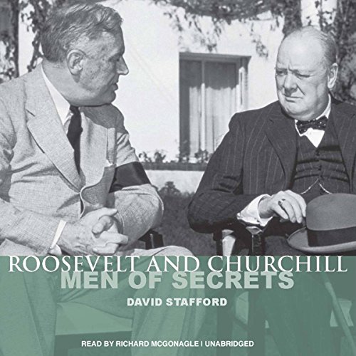 Roosevelt and Churchill audiobook cover art
