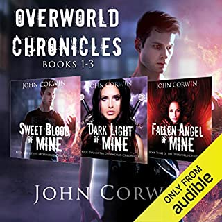 Overworld Chronicles Box Set: Books 1-3 audiobook cover art