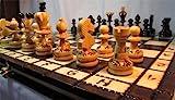 ajedrez plegable madera