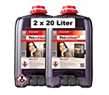 PetroHeat Petroleum Doppelpack Inhalt: 2x 20 L für Petroleumofen Heizofen Petroleumheizung