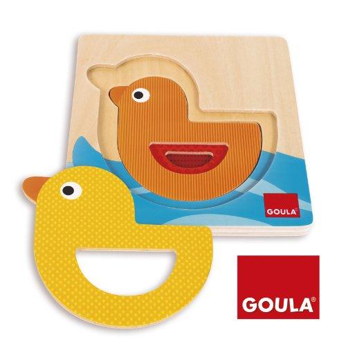Goula - 53126 - Jouet De Premier Age - Puzzle Canard Gigogne