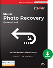 Stellar Photo Recovery Software   for Mac   Professional   Recover & Repair Deleted or Corrupt Photos, Audios, Videos   1 Device, 1 Yr Subscription   Instant Download (Email Delivery)