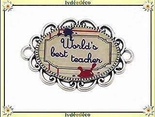 1 magnete migliore insegnante ardesia rosso inchiostro blu beige regali personalizzati per i regali bambini regalo grazie ...