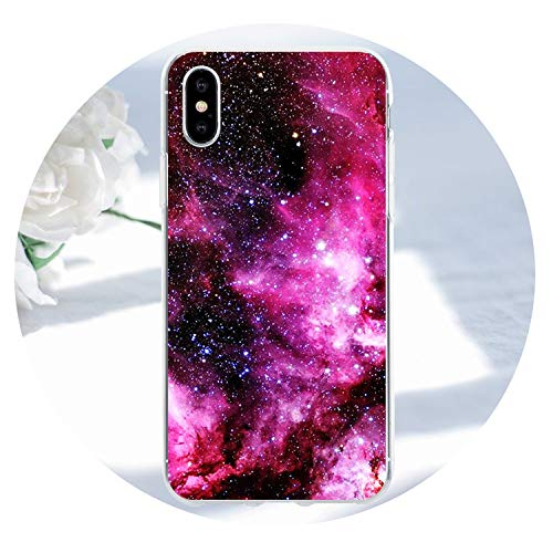 Space Planet Stars Phone Case For iPhone X 3D Relief Soft Back Cover For iPhone 5s SE 5 8 7 6 6s Plus Cases Coque,012,for iPhone 6s 6