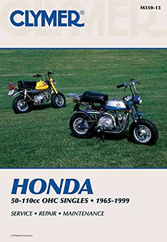 Honda 50-110cc, OHC Singles Motorcycle (1965-1999) Service Repair Manual