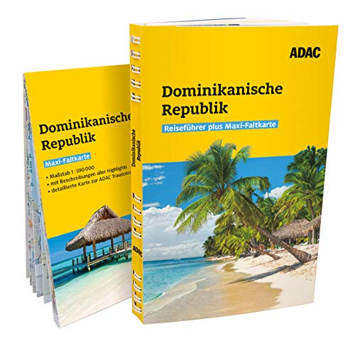 ADAC Reiseführer plus Dominikanische Republik: Mit Maxi-Faltkarte und praktischer Spiralbindung