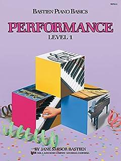 Bastien Piano Basics: Performance Level 1