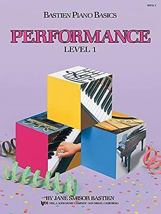 Bastien performance 1 [Lingua inglese]