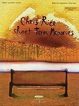 Chris Rice - Short Term Memories: Medium Voice Range (Sheet Music)