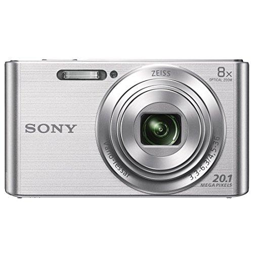 ソニー デジタルカメラ Cyber-shot DSC-W830 カメラ任せ かんたん きれい シルバー 200mm