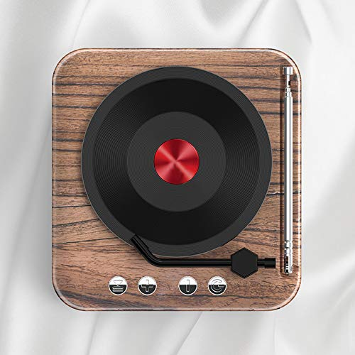 ReTink Turntable Record Player, Portable Vinyl Record Player, with Built-in Speakers Classic Turntable Vinyl Player, with Speakers