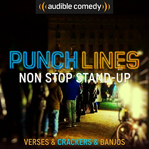 Ep. 8: Non-Stop Stand-Up (Punchlines) audiobook cover art
