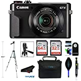 Canon PowerShot G7 X Mark II Digital Camera with Wi-Fi and 4.2X Optical Zoom (Black) + Pixibytes Pro Bundle