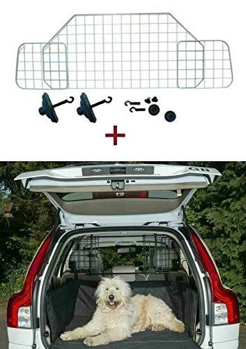 The Urban Company Hundegitter und gesteppte Kofferraumwanne für Nissan Qashqai (07-14)