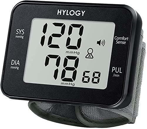 Handgelenk-Blutdruckmessgerät, Digitales Handgelenk-Blutdruckmessgerät und Automatische Puls-Erkennung, Großer LCD Bildschirm, 180 Speicherplätze