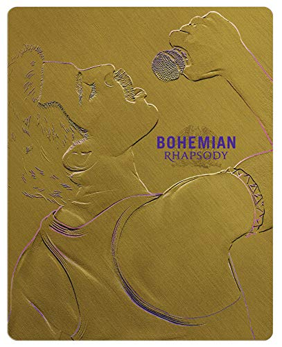 Bohemian Rhapsody Steelbook [Blu-ray] [Limited Edition]